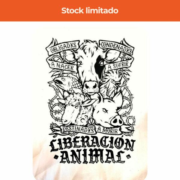 Bolsa serigrafía vegana